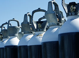 Inspektion af gasflasker og trykbeholdere