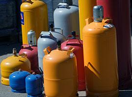 Inspektion af gasflasker